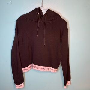 Pretty Little thing Crop Hoodie